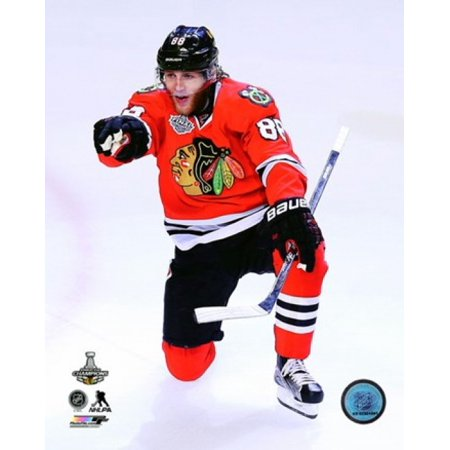 Patrick Kane Goal Celebration Game 6 of the 2015 Stanley Cup Finals Sports Photo