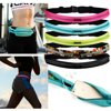 Double Zipper Running Belt Sport Pack Belly Waist Bum Bag Jogging Fitness Yoga Fanny Cycling Workout Pouch for smatphones iPhone Samsung Galaxy Made of high quality flexible nylon Polyester materialLight weight, Stylish, convenient, innovative.Two zipper closure pockets to hold essentialsAdjustable elastic band buckle waist belt strapAnti-bouncing and best comfort.