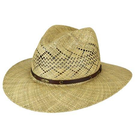 Digby Seagrass Western Hat