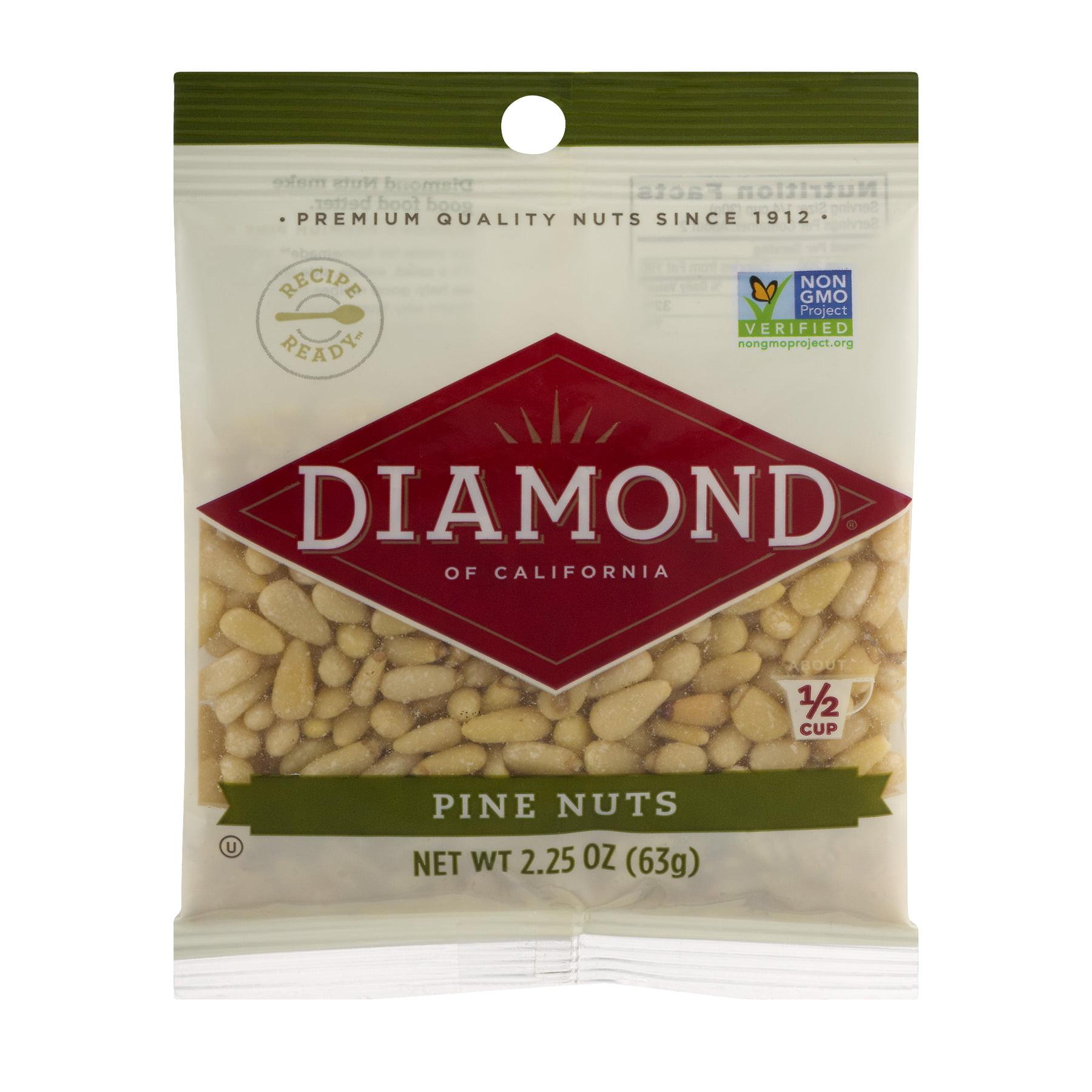 Diamond Foods Diamond of California Pine Nuts, 2.25 oz