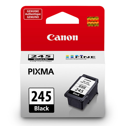 Canon PG-245 Black Inkjet Printer Cartridge compatible with PIXMA MG2420, PIXMA MG2922, PIXMA MG2924, PIXMA MG2520, PIXMA MG2920, PIXMA MX490 & PIXMA IP2820