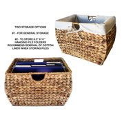 Pangaea Home and Garden Seagrass Basket Storage Pangaea 3 Drawer Storage Chest