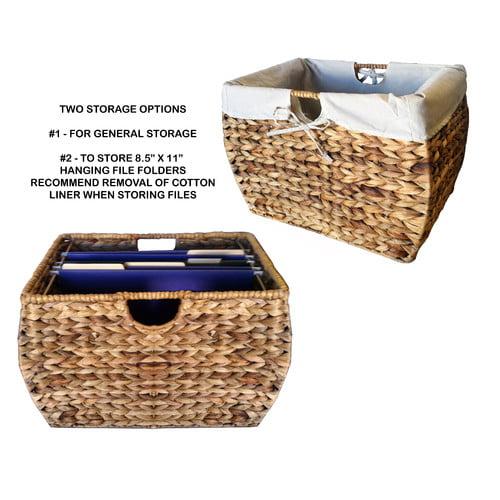 Pangaea Home and Garden Seagrass Basket Storage Pangaea 3 Drawer Storage Chest