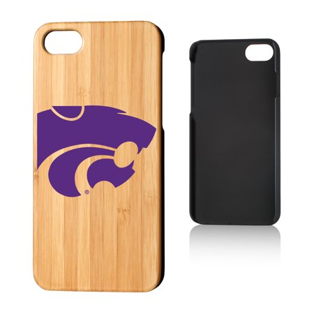 KS Kansas State Wildcats Insignia Bamboo Case for iPhone 8 / 7 ()