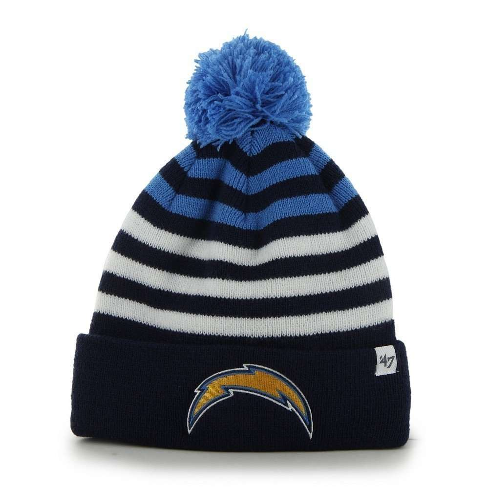 San Diego Chargers 47 Brand Youth NFL Yipes Cuff Knit Beanie
