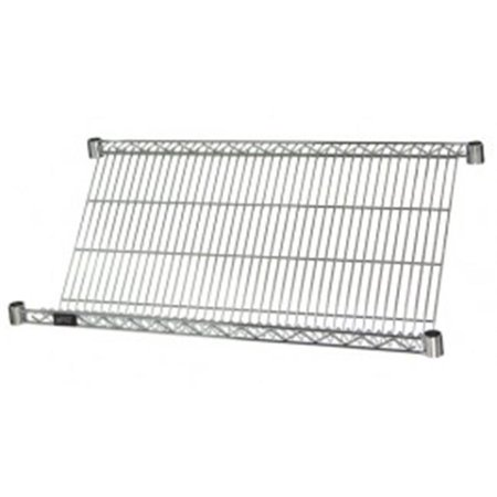 Wire Slanted Shelf Unit 5 Shelves