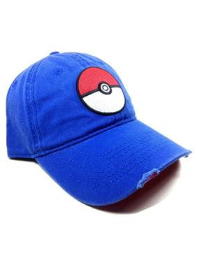 7f35348afde Product Image Baseball Cap - Pokemon - Pokeball Dad Hat Hat Licensed  ba3xvipok