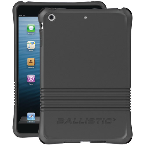 Ballistic Smooth Series Case for Apple iPad Mini, Mini 2, Mini 3 Charcoal Gray