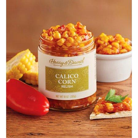 Spicy Corn Relish - Harry & David Calico Corn Relish, 10 Oz