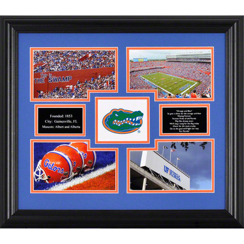 NCAA - Florida Gators Framed 4-Photograph Collage