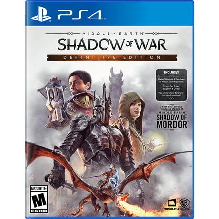 Middle Earth: Shadow Of War Definitive Edition, Warner Bros, Play Station 4, 883929654291 by Warner Bros.