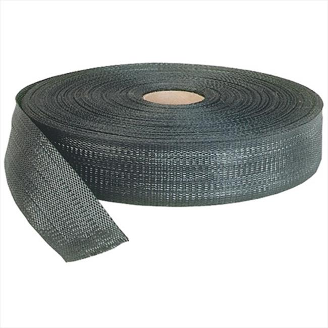 TEK SUPPLY 108014 Batten Tape, Fence Strapping - 4 in Black