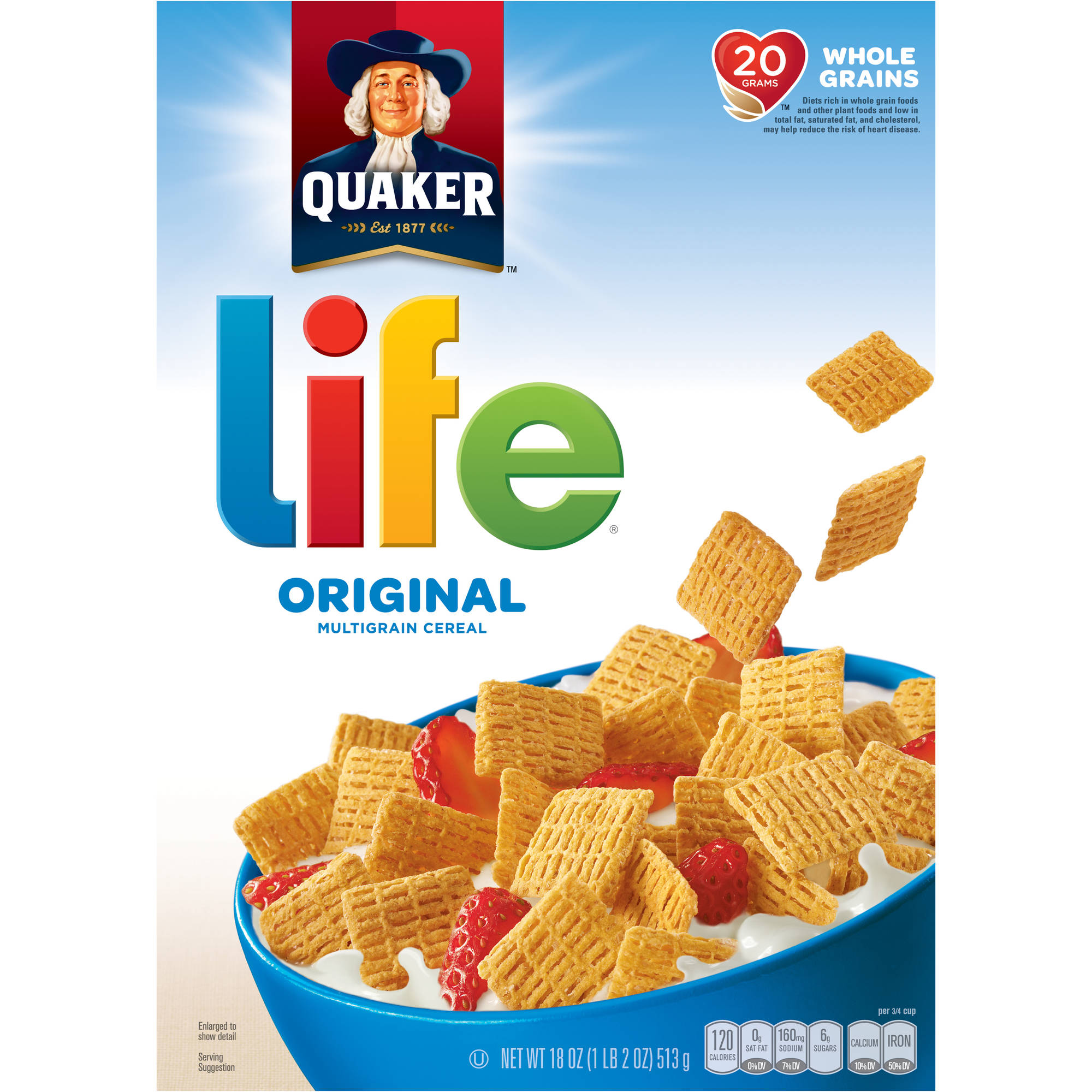 Life Original Cereal, 18 oz