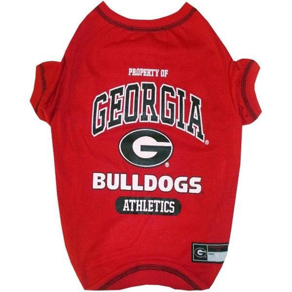 Georgia Bulldogs Dog Tee Shirt