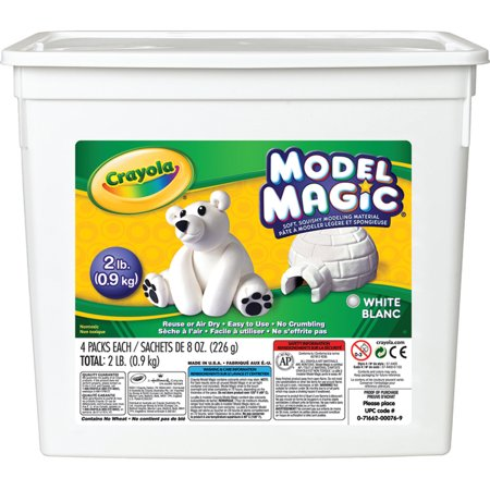 Crayola Model Magic, White, 2 lbs.