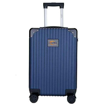Pepperdine Waves Premium 21'' Carry-On Hardcase Luggage - Navy