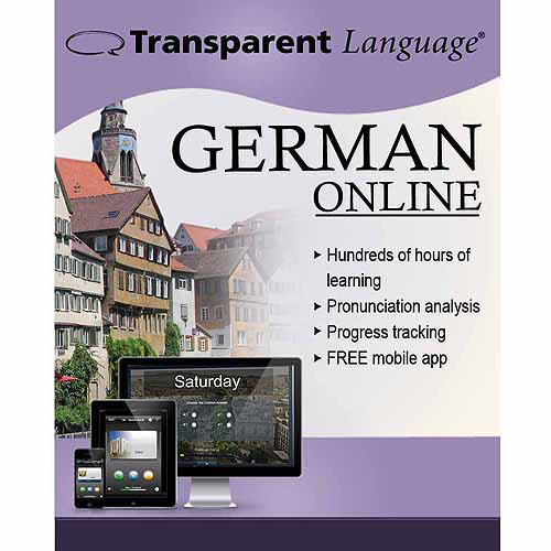 Transparent Language Online German (12 Month) (Digital Code)