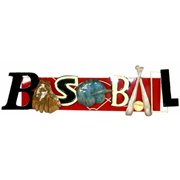 Pinnacle Strategies Llc R11323-PBUPS Metal BASEBALL Wall Art
