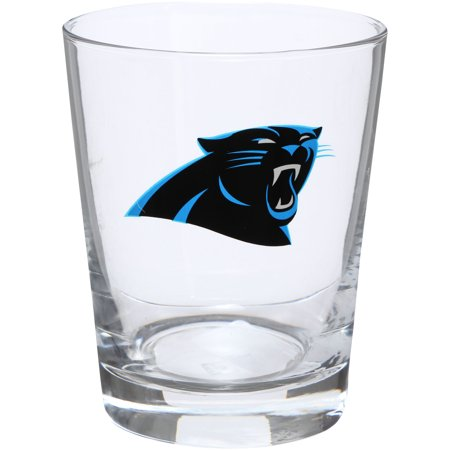 Carolina Panthers 15oz. Double Old Fashioned Glass - No Size