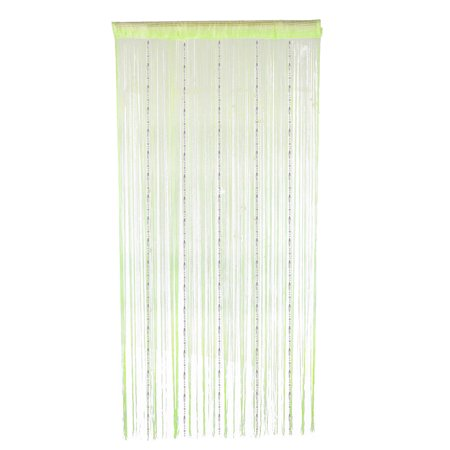 Home Decor Room Diver Wall Panel Hangings String Curtain Light Green ()