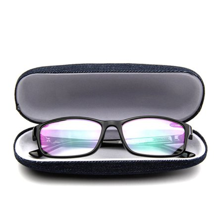 Jeans Cloth Scratchproof Eyeglasses Box Hard Eyeglass Case Protective Box - image 6 of 7