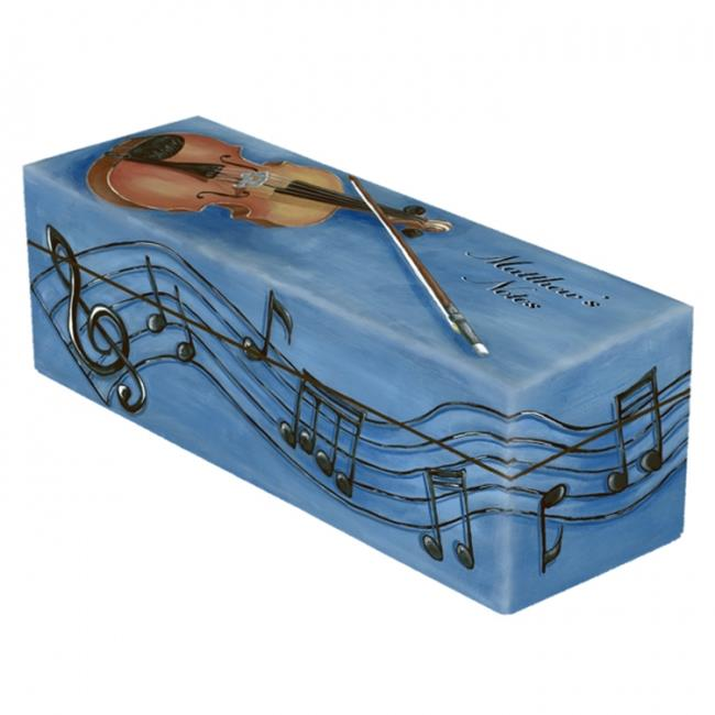 Lexington Studios 14-Horizontal Box:14019 Violin Music Box Horizontal Box by Lexington Studios