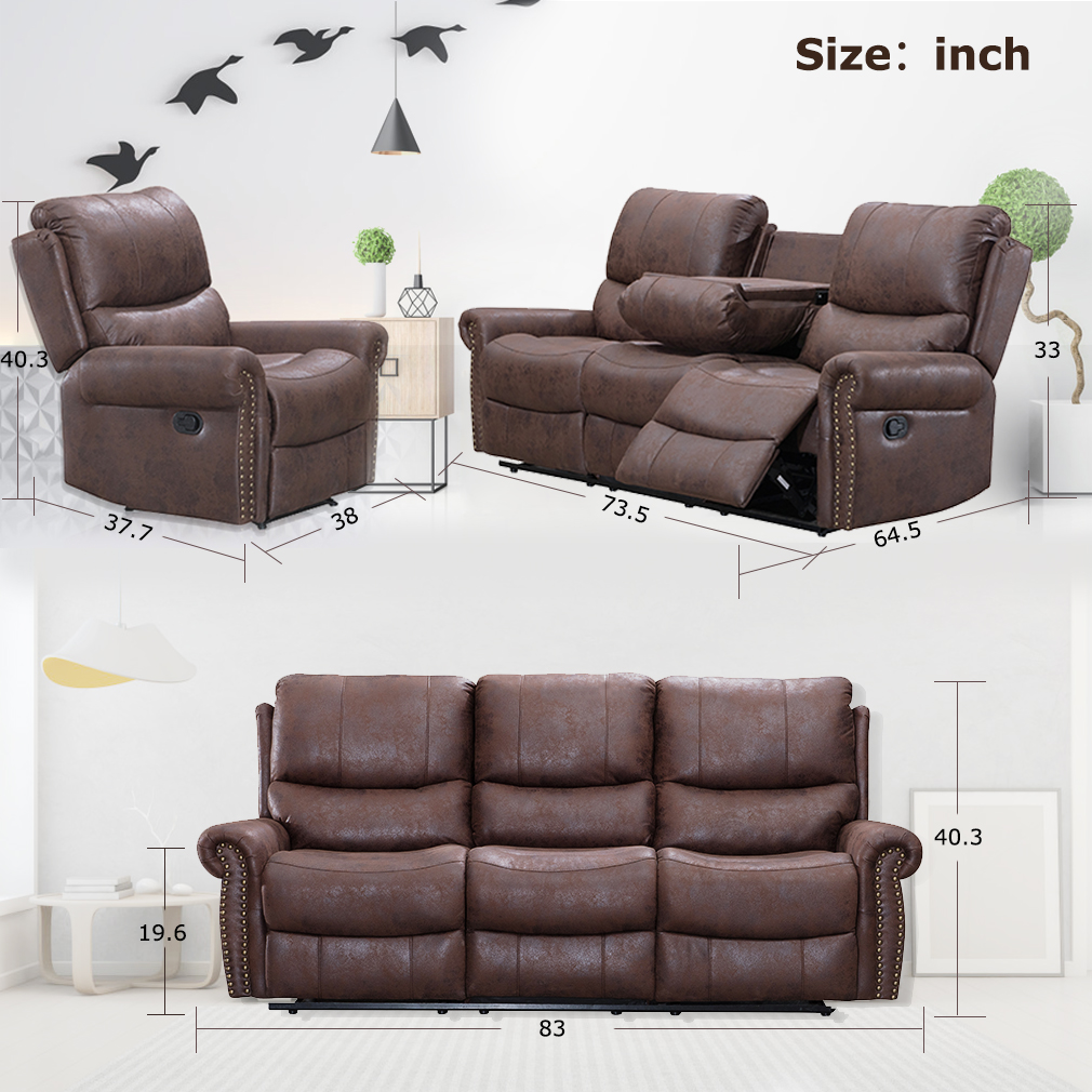 Cool Recliner Sofa Living Room Set Reclining Couch Sofa Chair Gmtry Best Dining Table And Chair Ideas Images Gmtryco