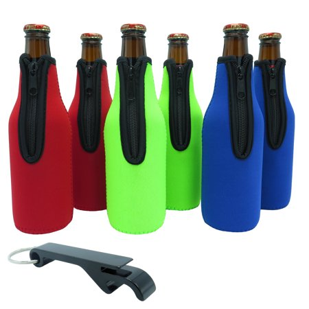 Beer Bottle Cozy (Beer Bottle Sleeves - Set of 6 (Classic) Bottle)
