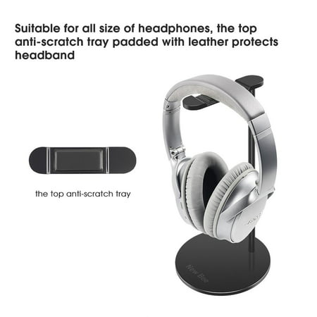 New Bee NB-Z3 Universal Headphone Holder Gaming Headset Stand Earphone Display Rack Hanger Bracket for Over Ear Headsets - image 7 of 7