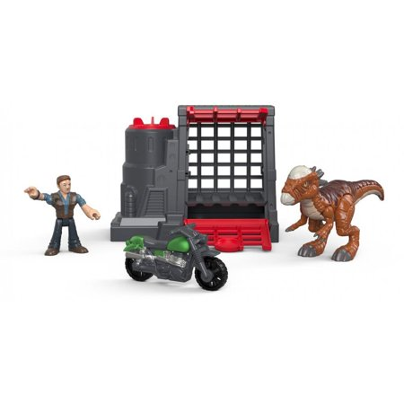 Imaginext Jurassic World Stygimoloch & Owen](Jurassic World Owen)