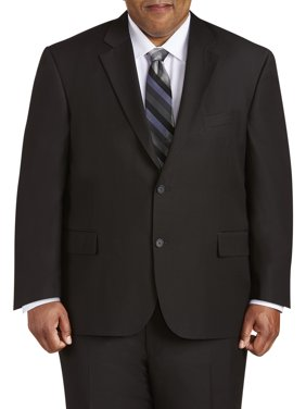 9cd07b3906ce Product Image Canyon Ridge Big Men's Executive Fit Solid Black Suit Jacket,  up to size 66