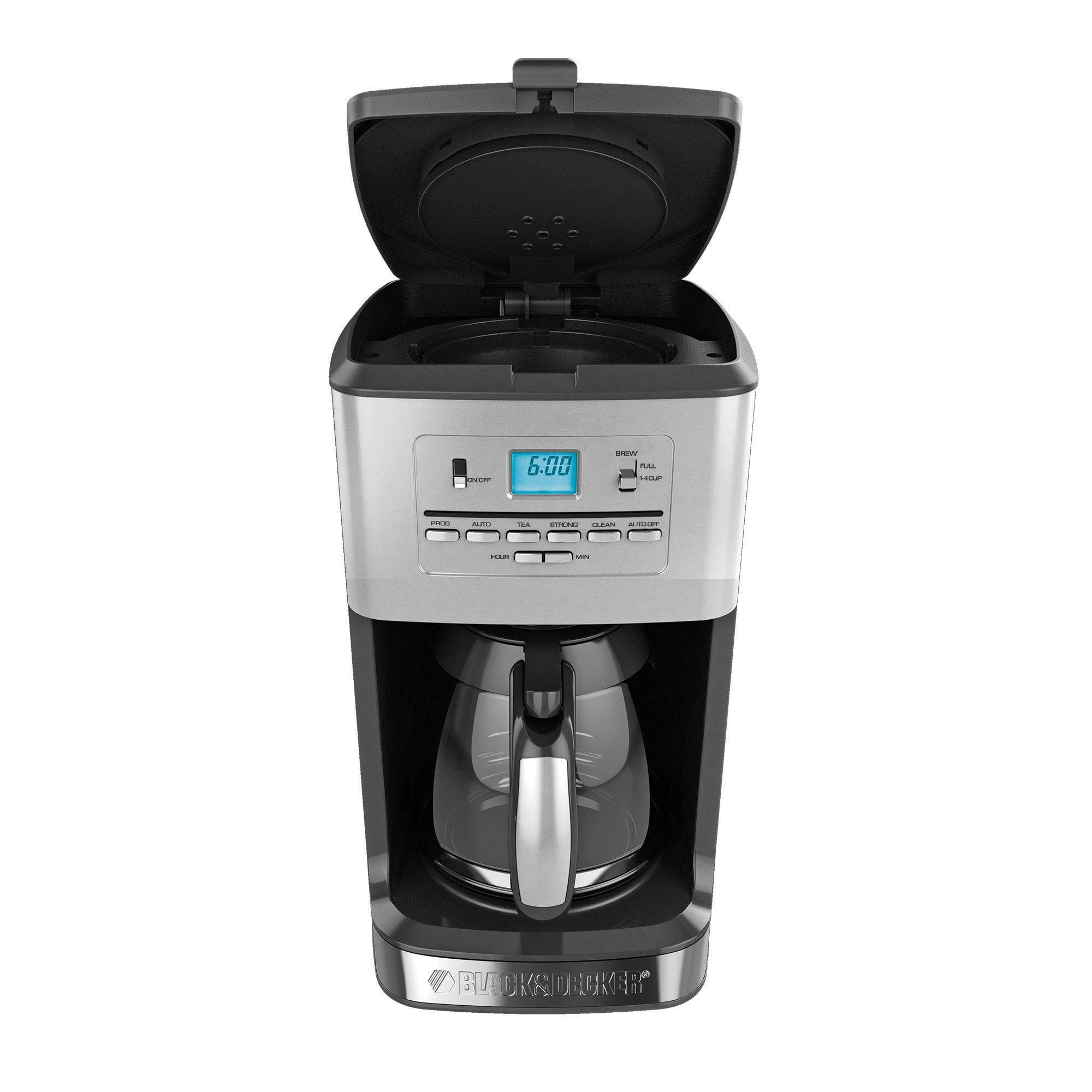 Black & Decker 12-Cup Tea and Coffee Maker (cm3005s)