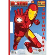 Invincible! (Marvel: Iron Man) [With Sticker(s)]