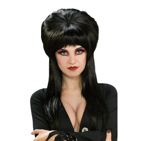 Elvira Deluxe Wig Adult Halloween Accessory](Elvira Wig)