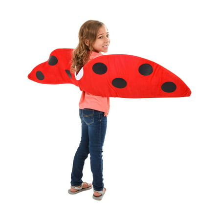 Child Costume Accessory Red Lady Bug Wings