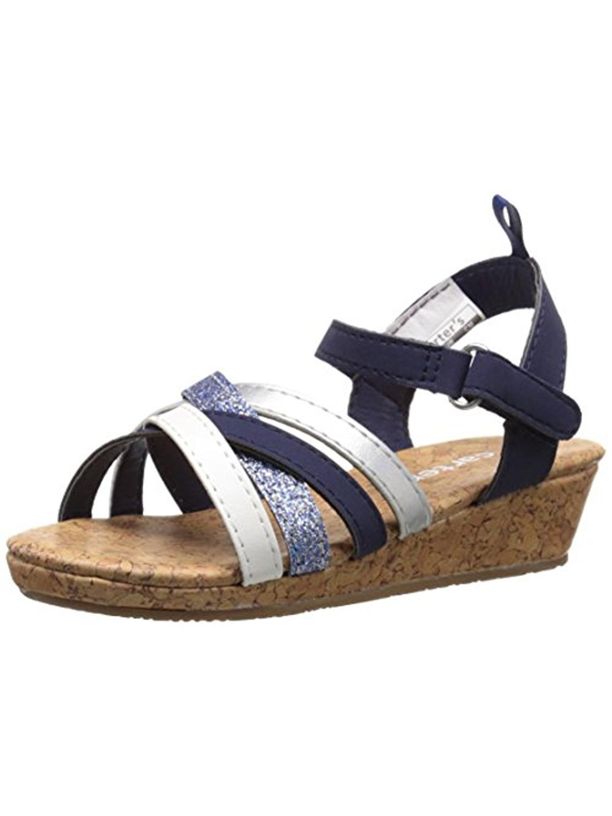 Carters Lana Glitter Faux Leather Sandals