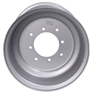ITP Steel ATV Wheel 10x8 3+5 4/137 Silver