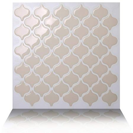 Tic Tac Tiles Premium Anti Mold Peel And Stick Wall Tile