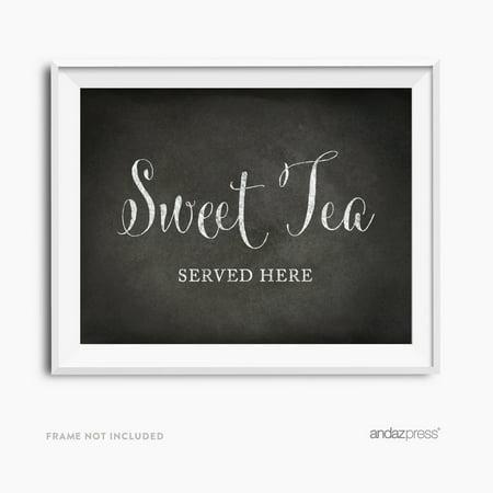 Vintage Tea Party (Sweet Tea Vintage Chalkboard Wedding Party)