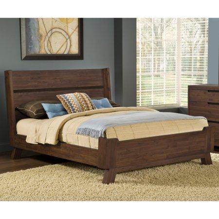 Modus Portland Solid Wood Platform Bed