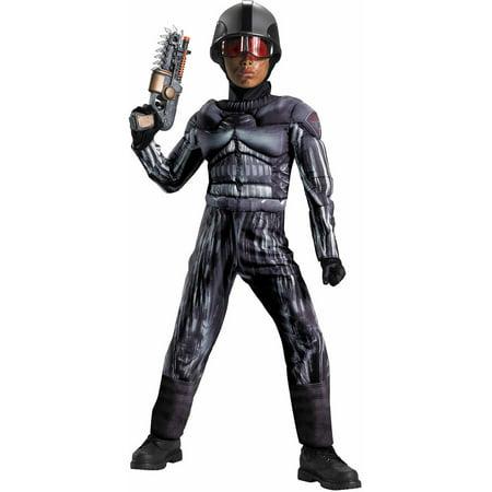 Exo Swat Classic Muscle Child Halloween Costume