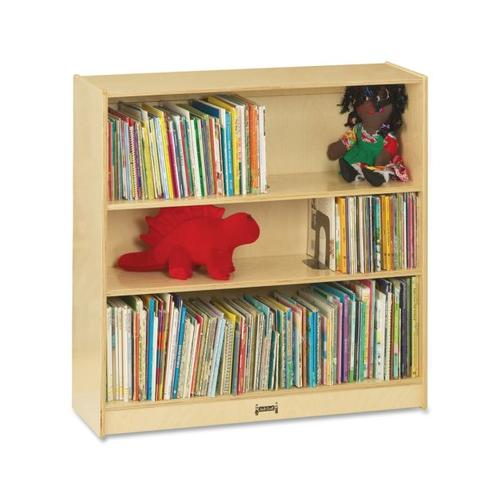 "Jonti-Craft Bookcase 48""High, 3 Adjustable Shelves - RTA - 0961JC JNT0961JC"