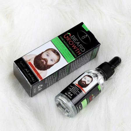 100% Natural Organic Beard Growth Liquid Beard Care Profession EU&US Men Beard Care Liquid For Beard Growth Male Hair