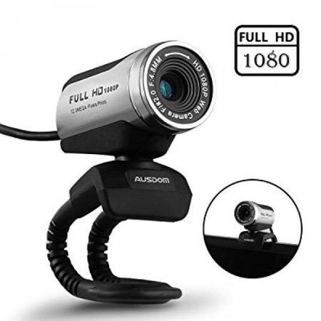 Webcam with microphone ausdom a camera for youtube hd for Camera tv web