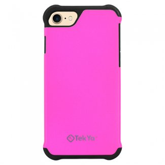 Apple Iphone 8 7 Tekya Rigel Series Case   Hot Pink Black