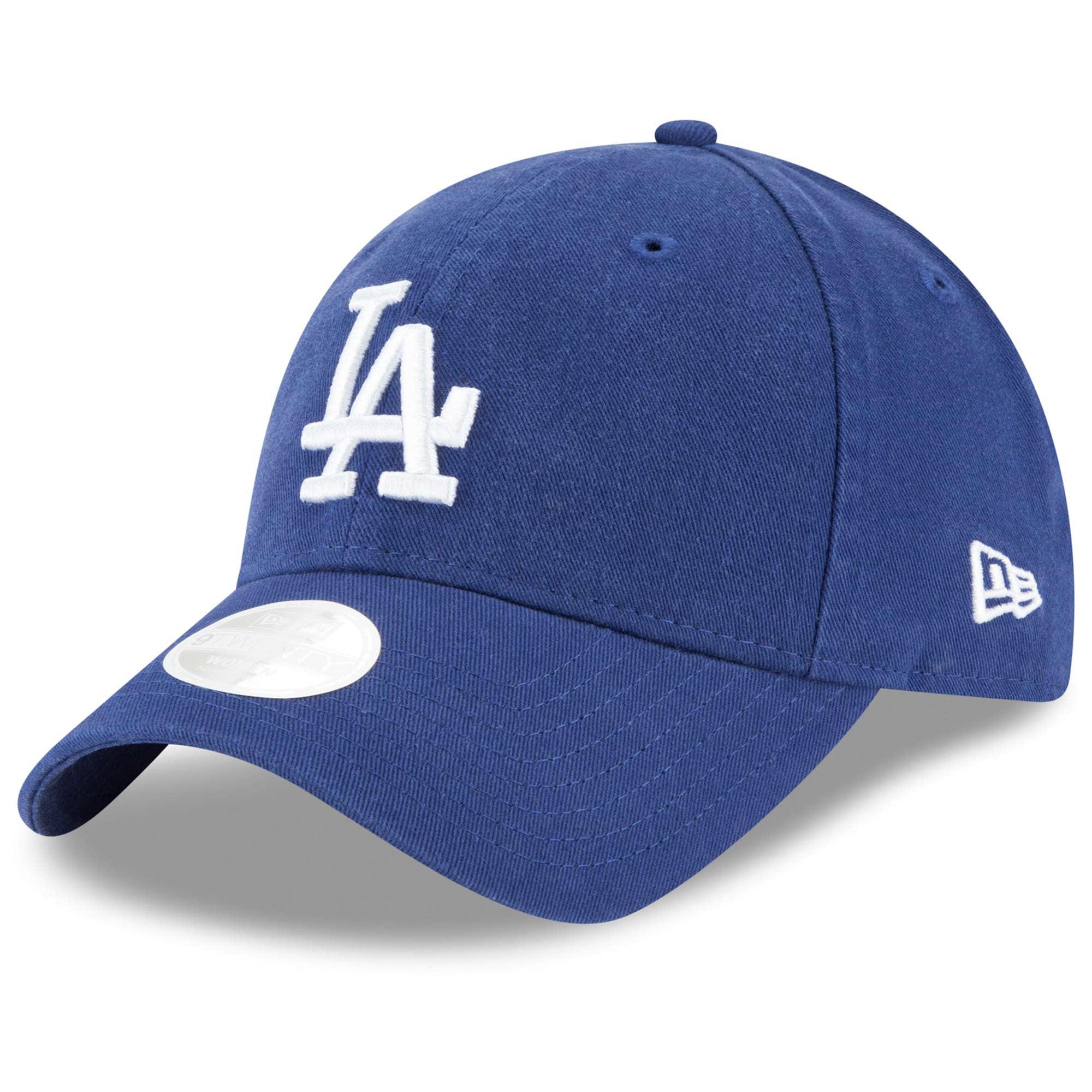Los Angeles Dodgers New Era Women's Logo Core Classic Twill Team Color 9TWENTY Adjustable Hat - Royal - OSFA