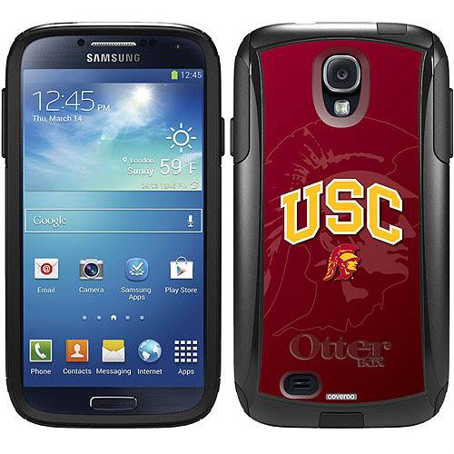 USC Watermark 1 Design on OtterBox Commuter Series Case for Samsung Galaxy S4