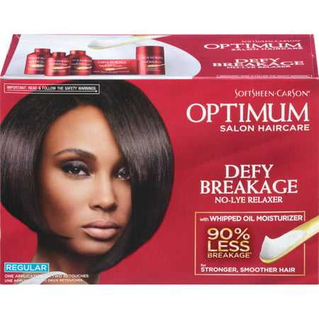 Regular Relaxer (SoftSheen-Carson Optimum Salon Haircare Defy Breakage No-Lye Relaxer, Regular )