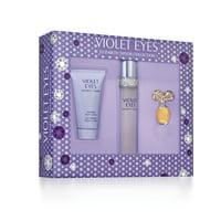 Elizabeth Taylor Violet Eyes Fragrance Gift Set for Women, 3 piece