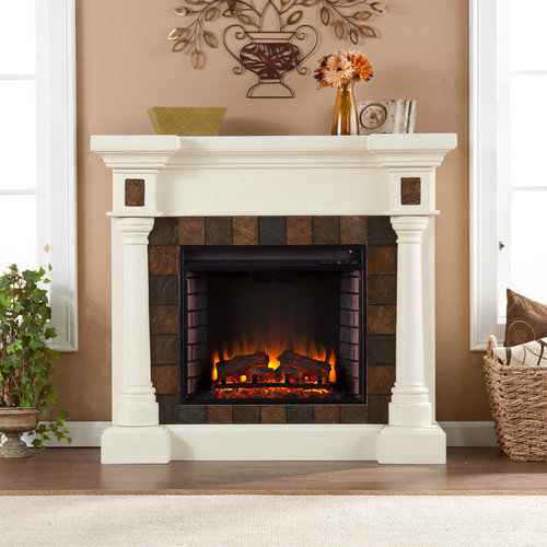 Woodhaven Hill Clark Electric Fireplace
